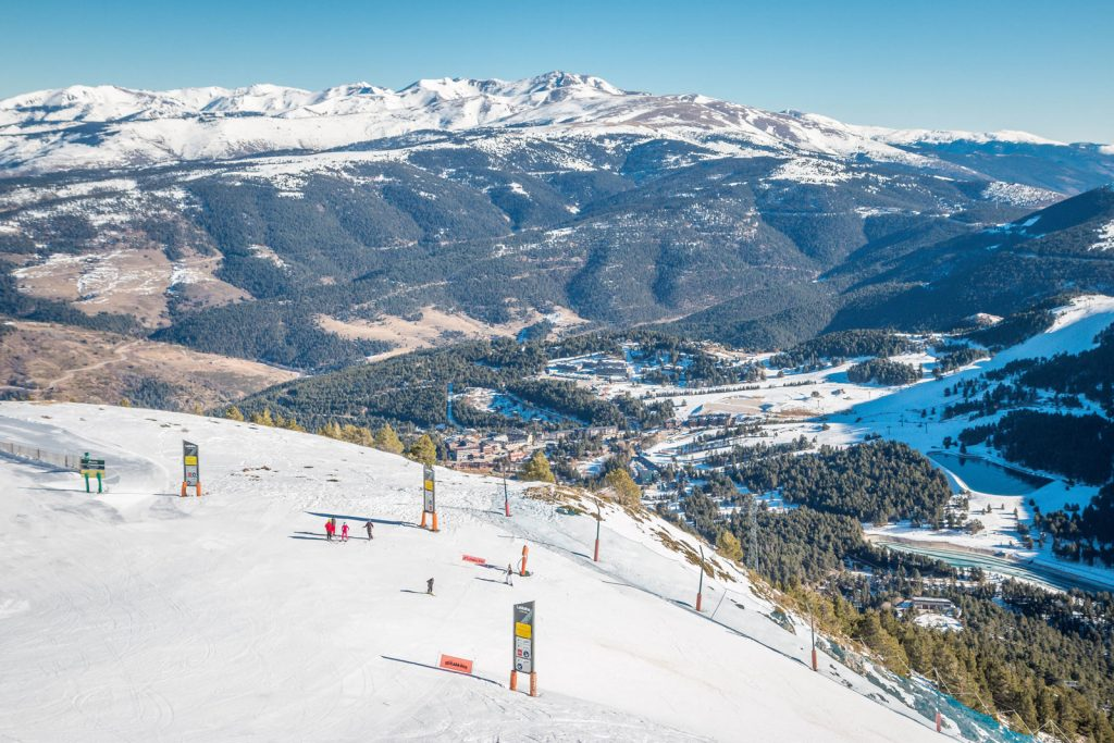 mejores estaciones del Pirineo Catalán
