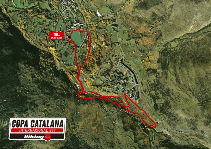 Recorridos en Vall de BoíL Recorrido Copa Catalana BTT 2019